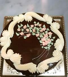 ウェディング チョコレートケーキ