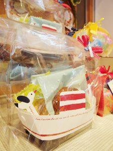 カモメの焼き菓子パッケージ