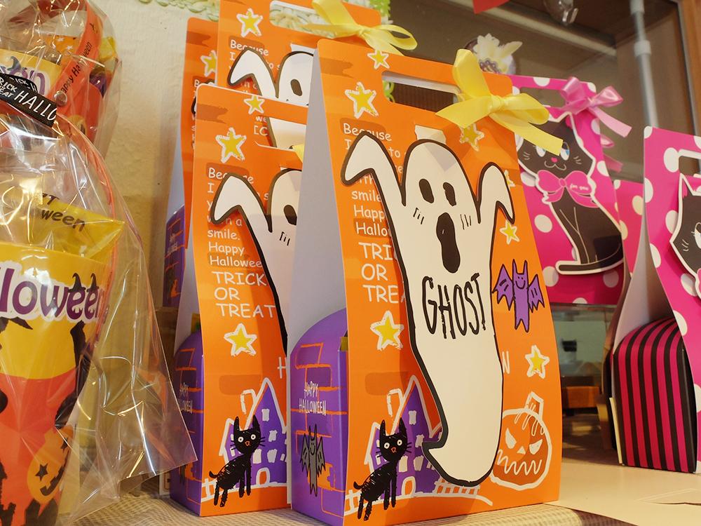 ハロウィンの焼き菓子パッケージ