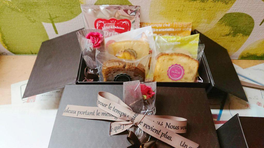父の日の焼き菓子パッケージ