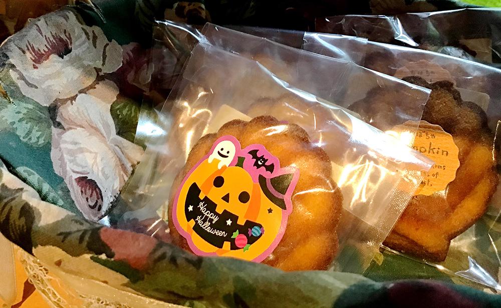 ハロウィンの焼き菓子
